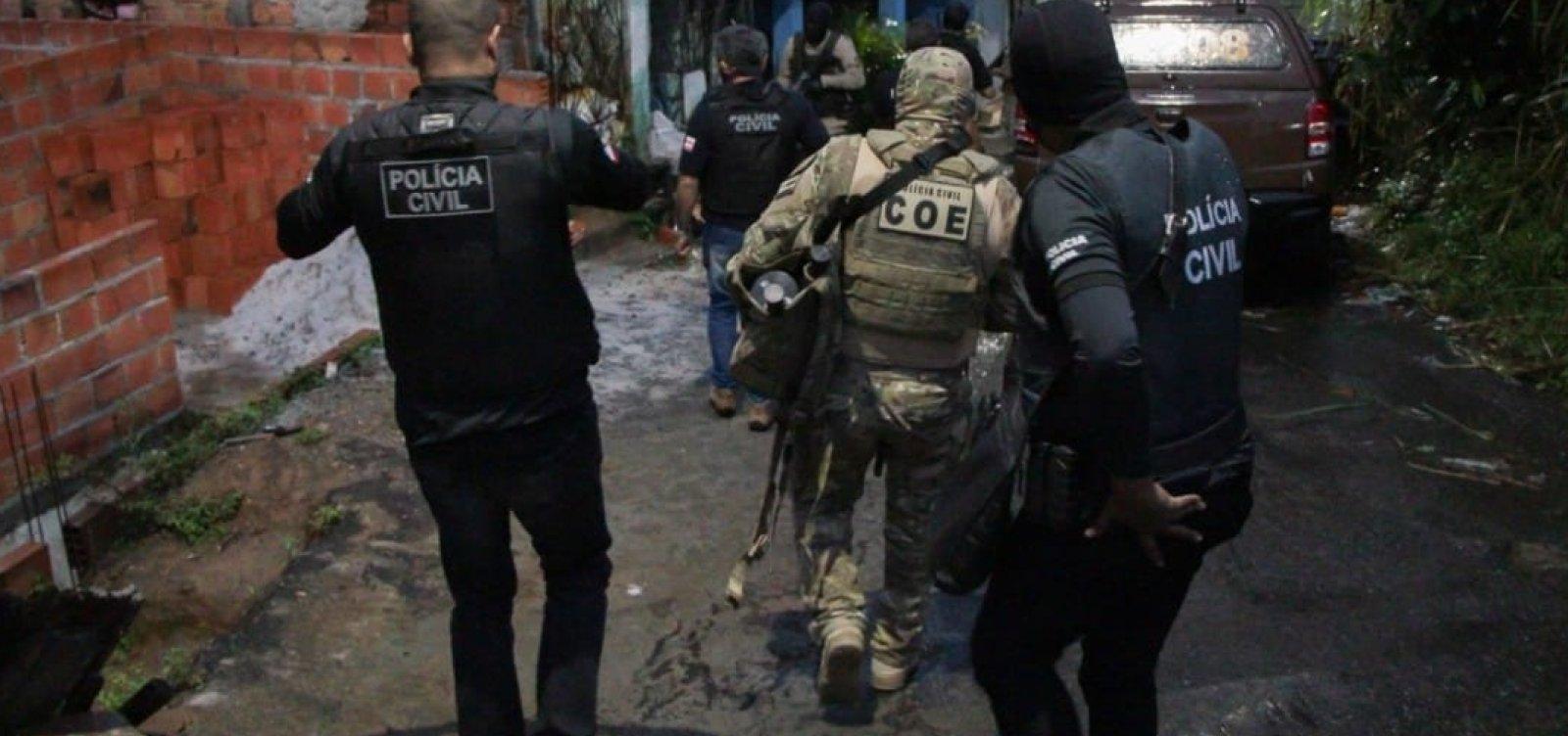 Homem morre durante operação da PM que investiga ataques a bancos