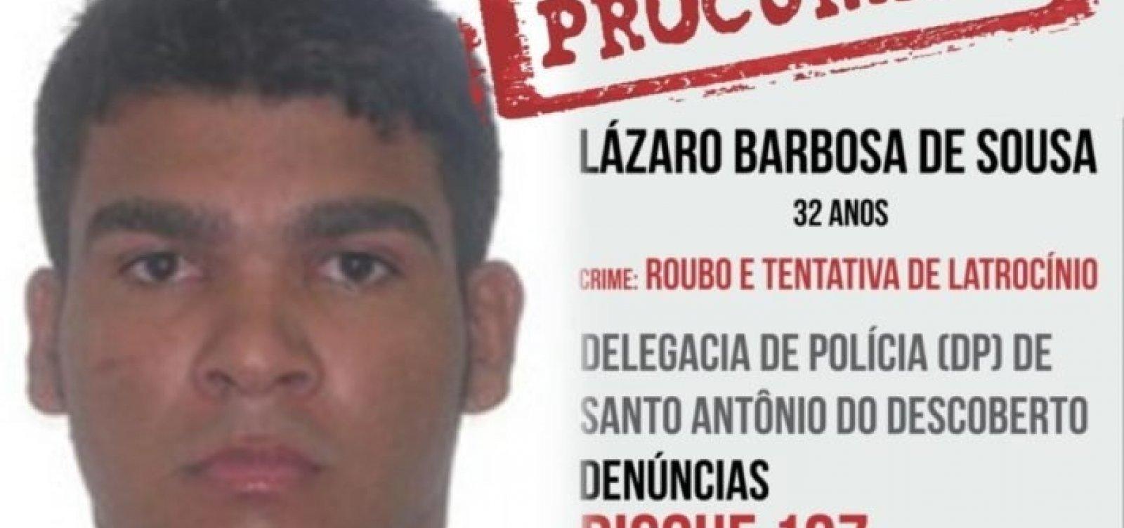 Secretário de Segurança de Goiás promete prender o 'maníaco' Lázaro nesta quarta-feira