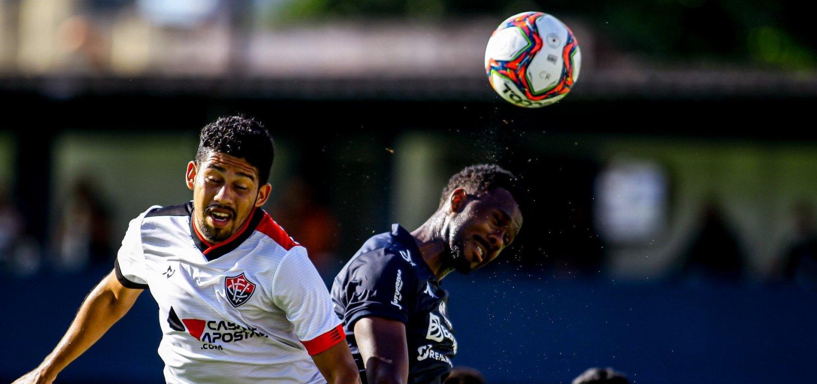 Três empates em três jogos garantem pior início do Vitória na história da Série B