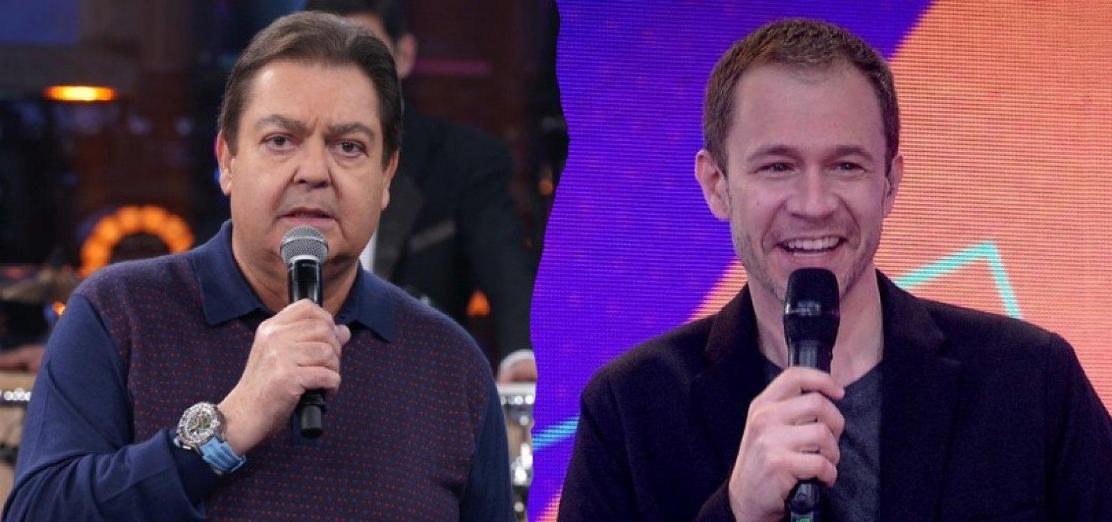 Globo antecipa saída e Faustão será substituído por Tiago Leifert