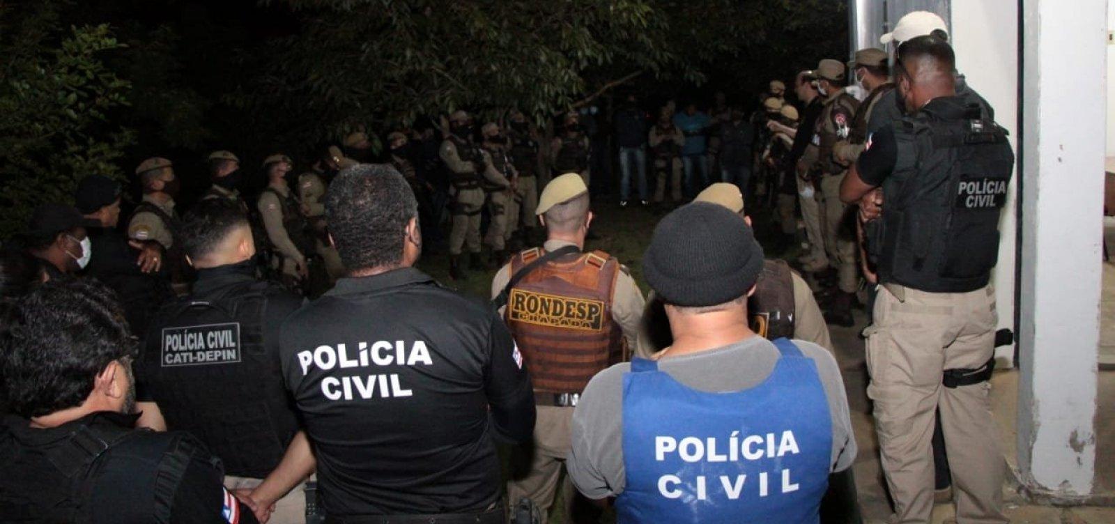 Operação com 120 policiais busca grupos criminosos na Chapada Diamantina