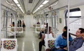 Metrô tem queda de 25% no número de passageiros após início da cobrança