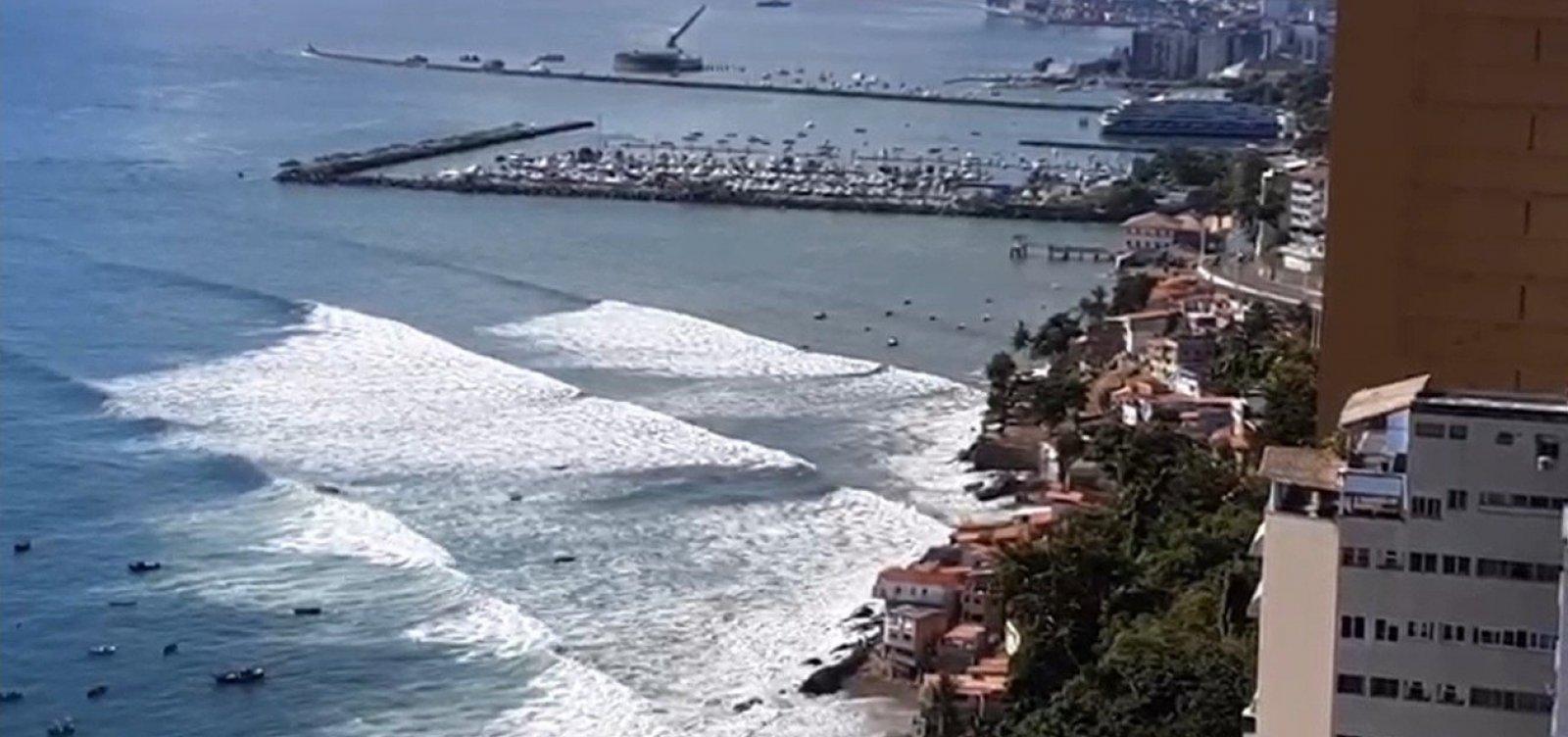 'Engrenagem dos ventos' impulsionou ondas na Baía de Todos os Santos, explica oceanógrafo