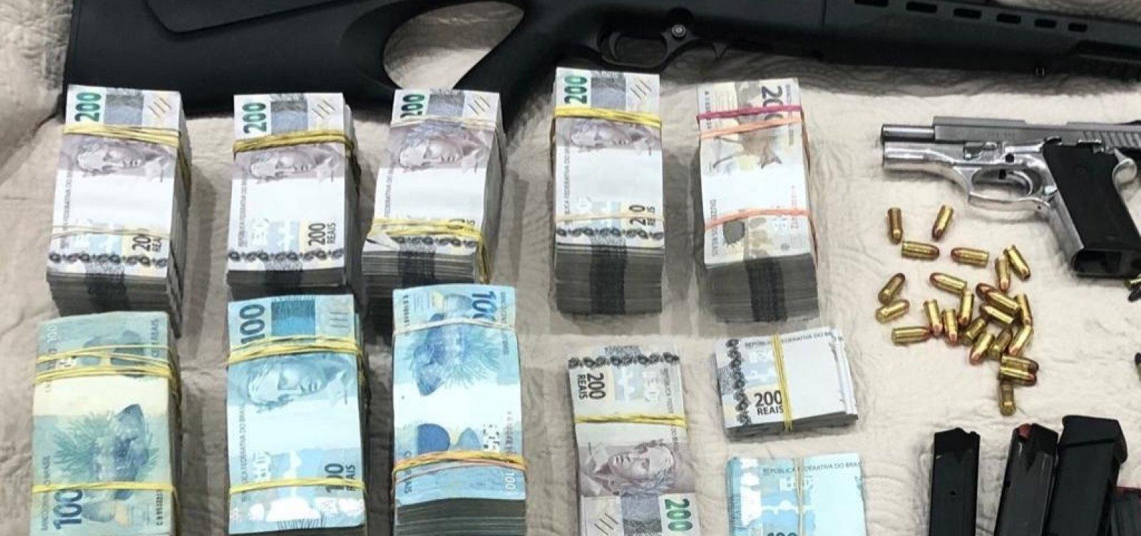 Polícia apreende R$ 670 mil em fazenda de irmão de prefeito no interior do estado