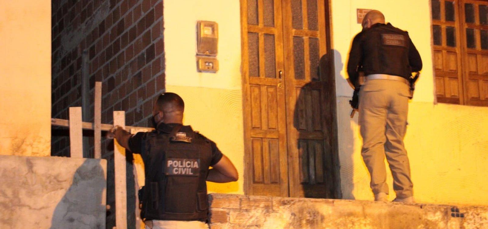 Operação da polícia prende quatro líderes de facções criminosas na Chapada