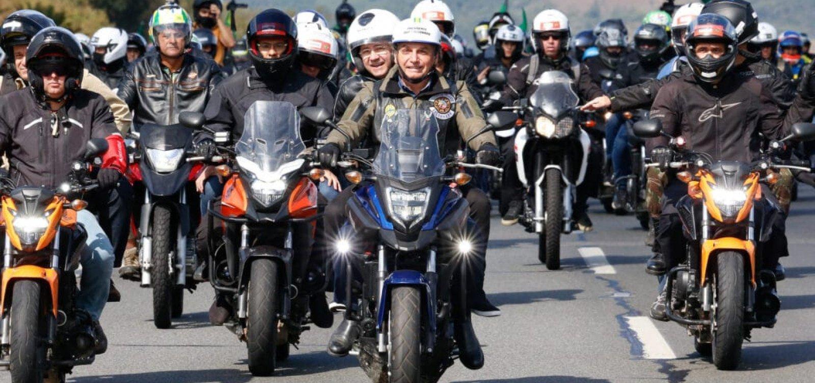 """Após atos pedindo intervenção militar, ex-vereador diz que organiza motocarreata """"pela democracia"""" no 2 de Julho"""