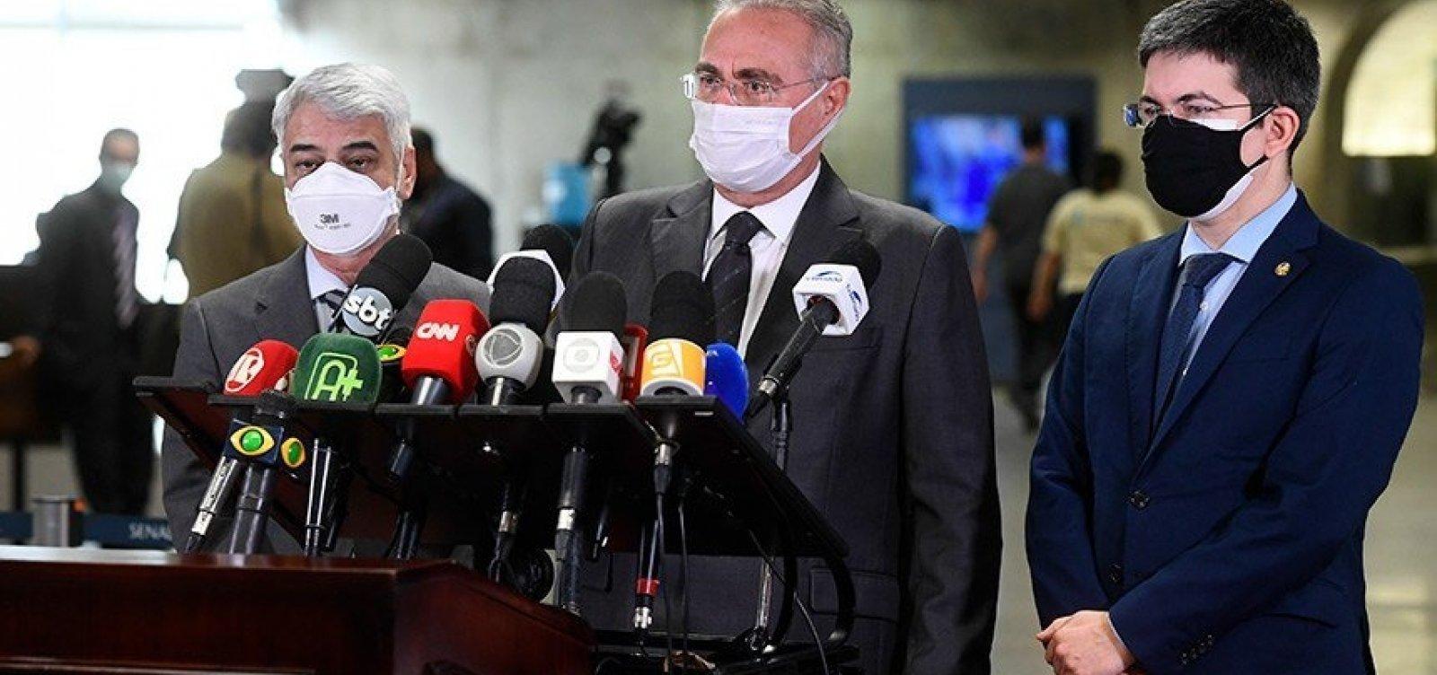 Queiroga, Pazuello, Araújo e mais 11 passam à condição de investigados na CPI da Covid
