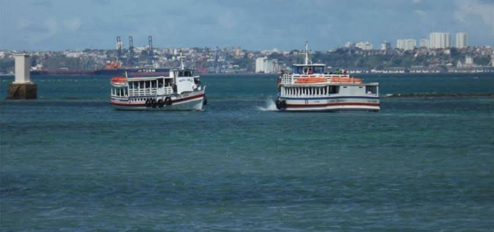 Travessia Salvador-Mar Grande opera com oito embarcações e saída de hora em hora