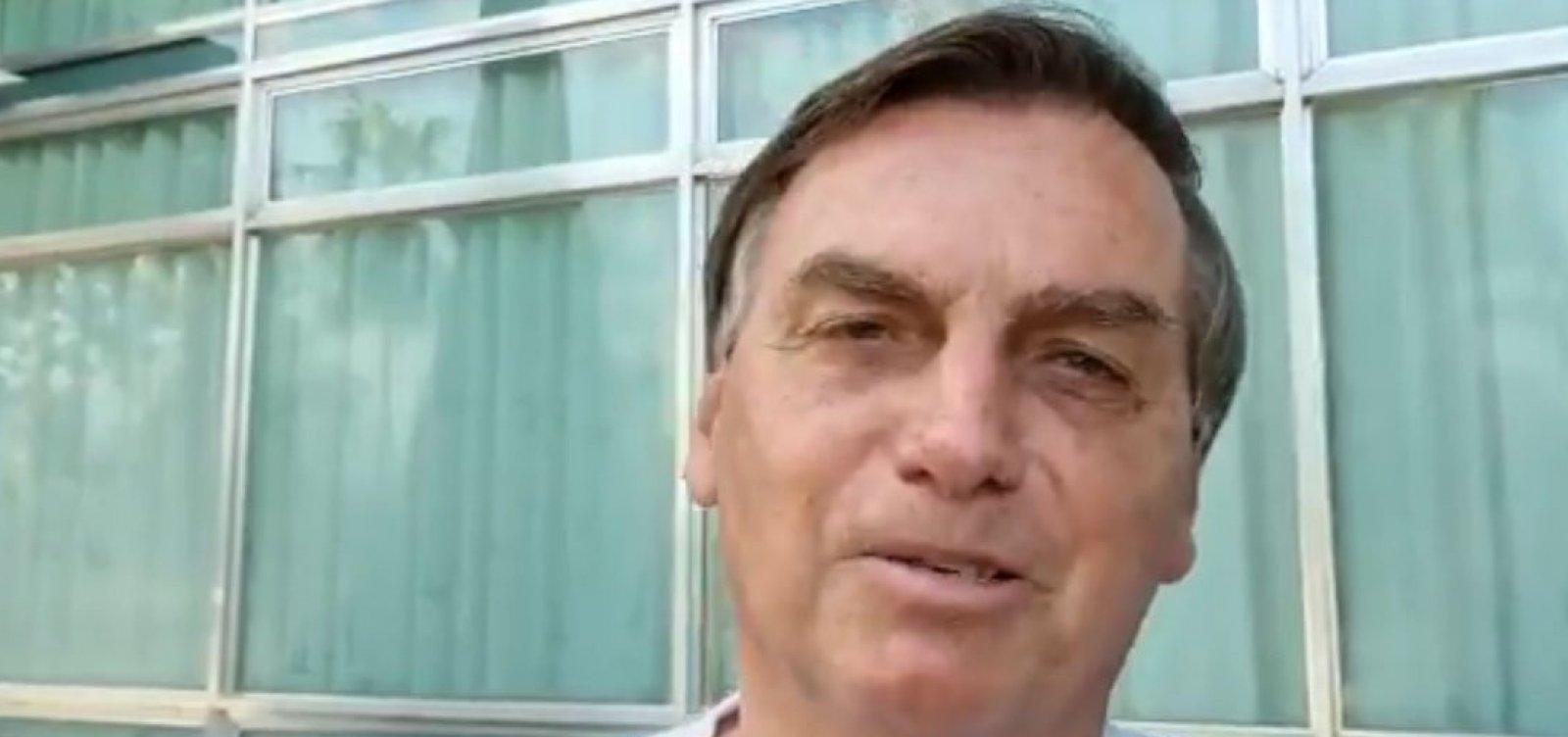 Primeira fala de Bolsonaro após Brasil ultrapassar 500 mil mortes por Covid é sobre o foragido Lázaro