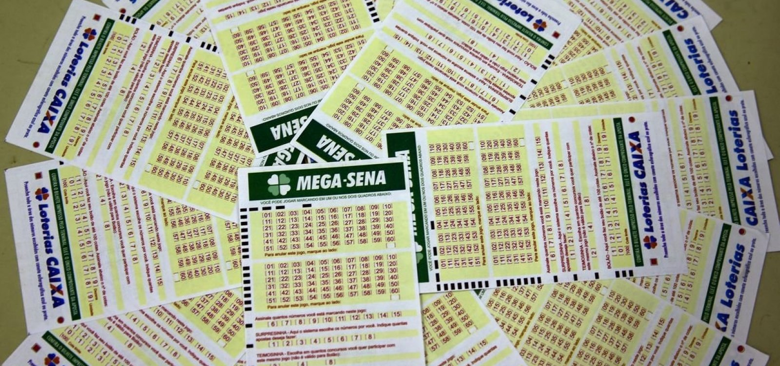 Um apostador ganha o prêmio de  R$ 7 milhões da Mega-Sena