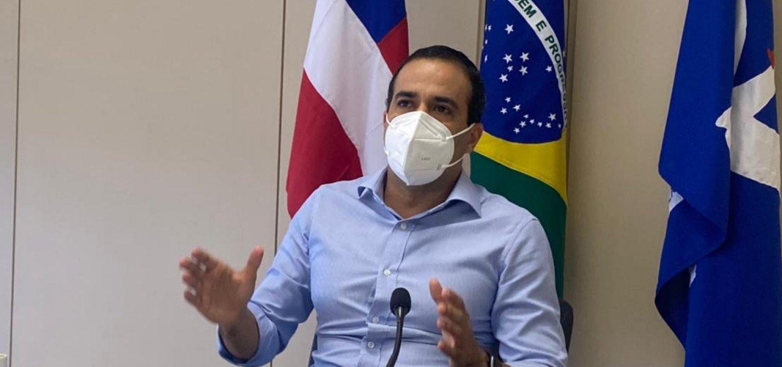 """""""No que depender desse prefeito vai ter Carnaval e Réveillon"""", diz Bruno Reis"""