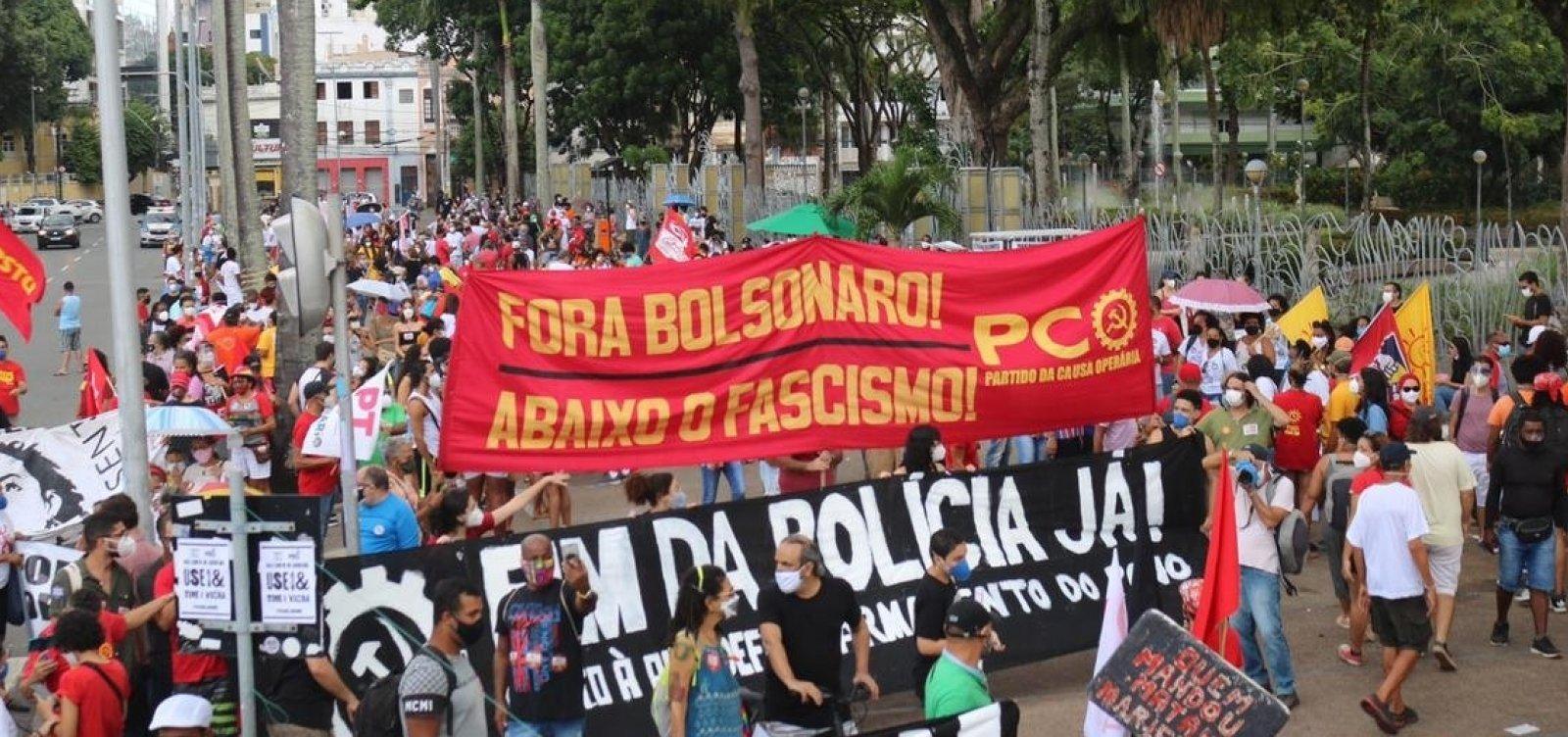 Prefeito diz lamentar ato contra Bolsonaro em Salvador em meio à pandemia