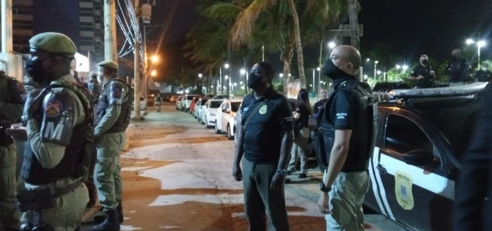 Operação Panaceia: empresário é preso com arma irregular em prédio de luxo