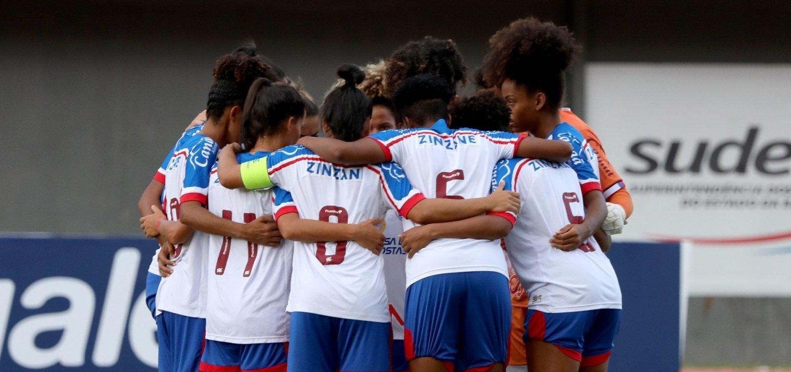 Sem nenhum triunfo, time feminino do Bahia é rebaixado com uma rodada de antecedência