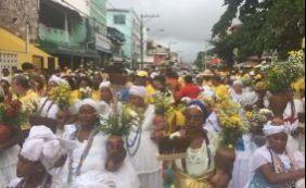 Cortejo em Lauro de Freitas homenageou padroeiro do município neste sábado