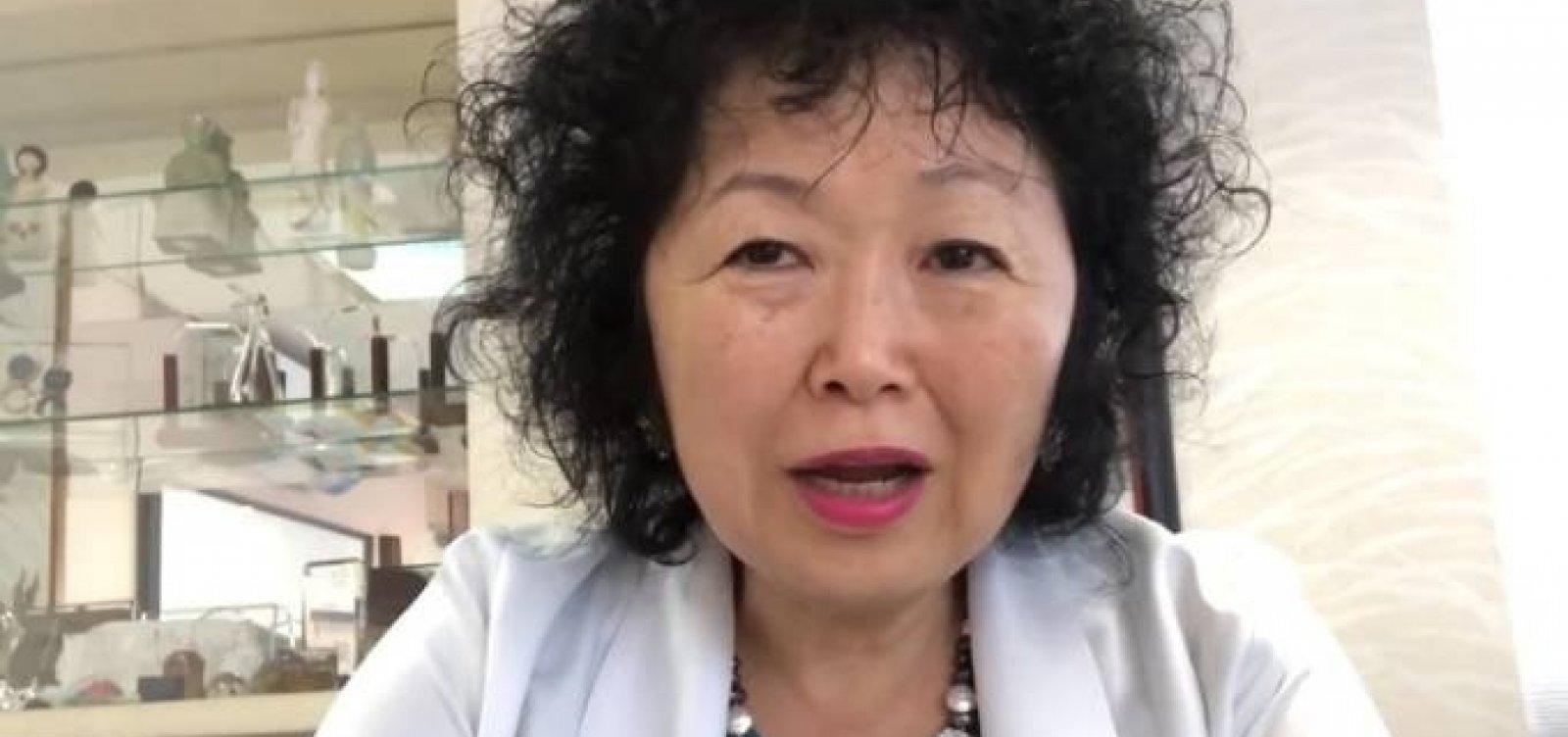 """Médica Nise Yamaguchi fala em """"crueldade"""" e move processo contra Omar Aziz e Otto Alencar"""