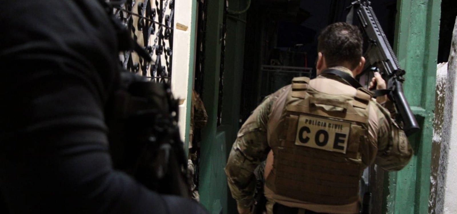 Quatro acusados de integrar organizações criminosas são presos em Salvador