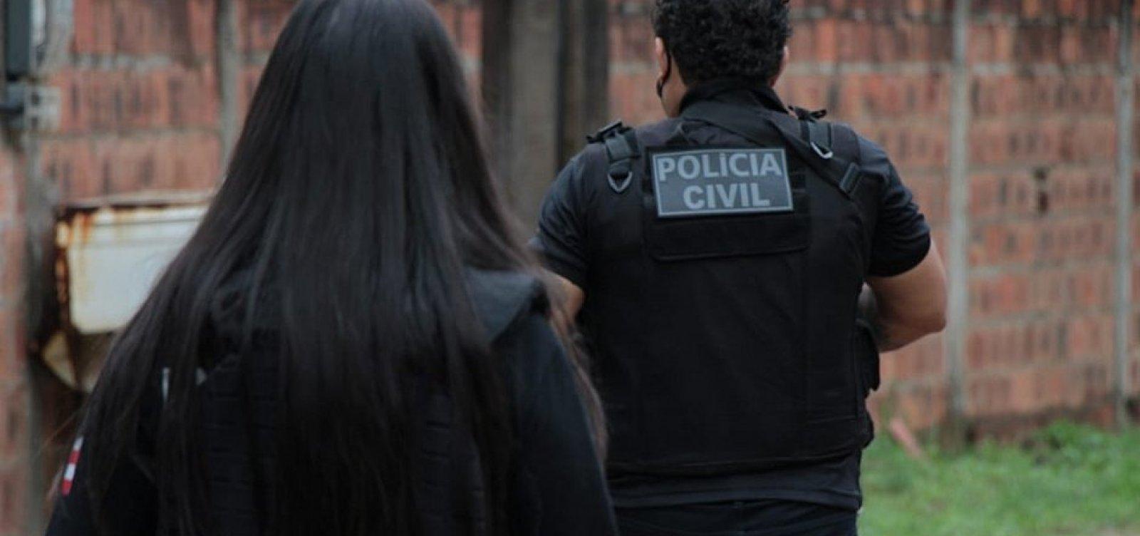 Polícia prende acusado de estupro de sobrinha durante operação contra tráfico na Bahia