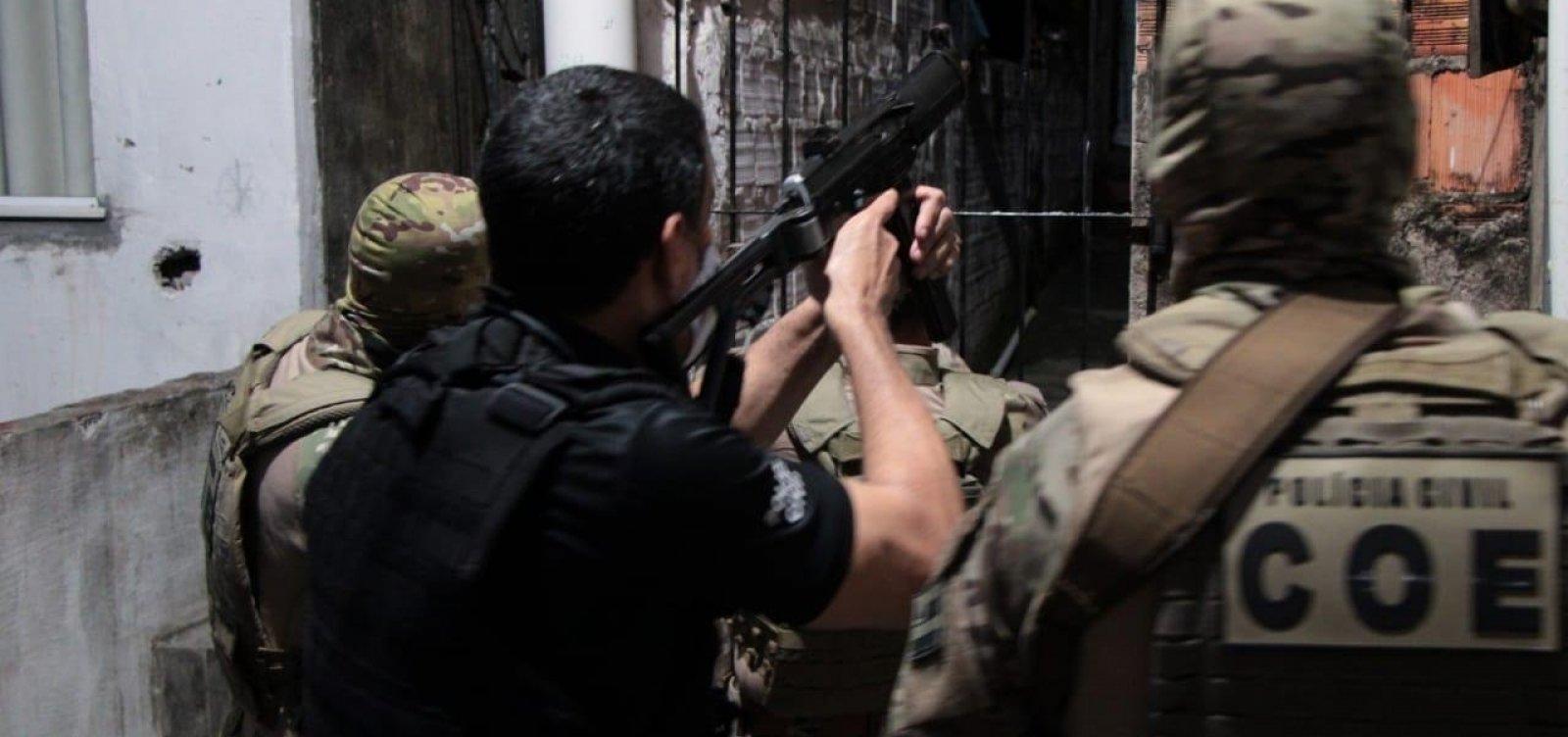 Operações da Polícia Civil prendem 18 envolvidos com grupos criminosos