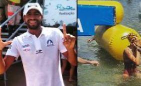 Allan do Carmo e Márcia Santos vencem a travessia Mar Grande-Salvador