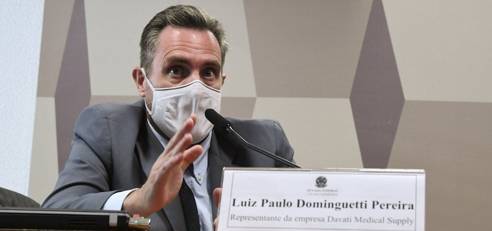 Na CPI, Dominguetti confirma proposta de propina de 1 dólar por dose de vacina