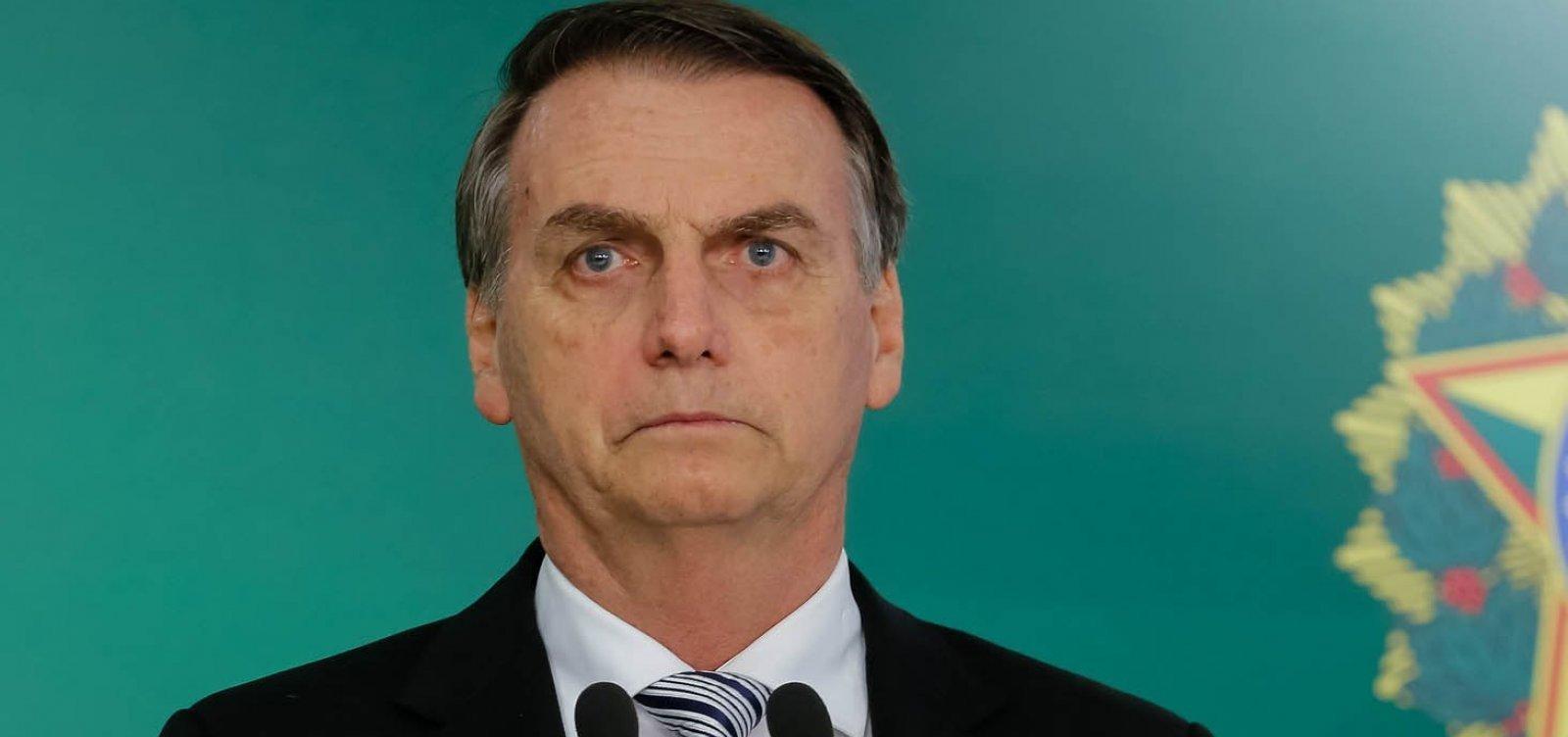 """""""Nunca foi por saúde"""", diz Bolsonaro ao criticar vandalismo durante manifestação em SP"""