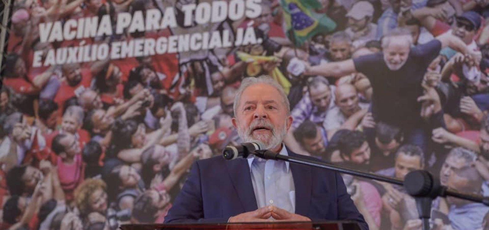 """Lula diz que possível 2º turno com Ciro em 2022 seria """"extraordinário para o Brasil"""""""