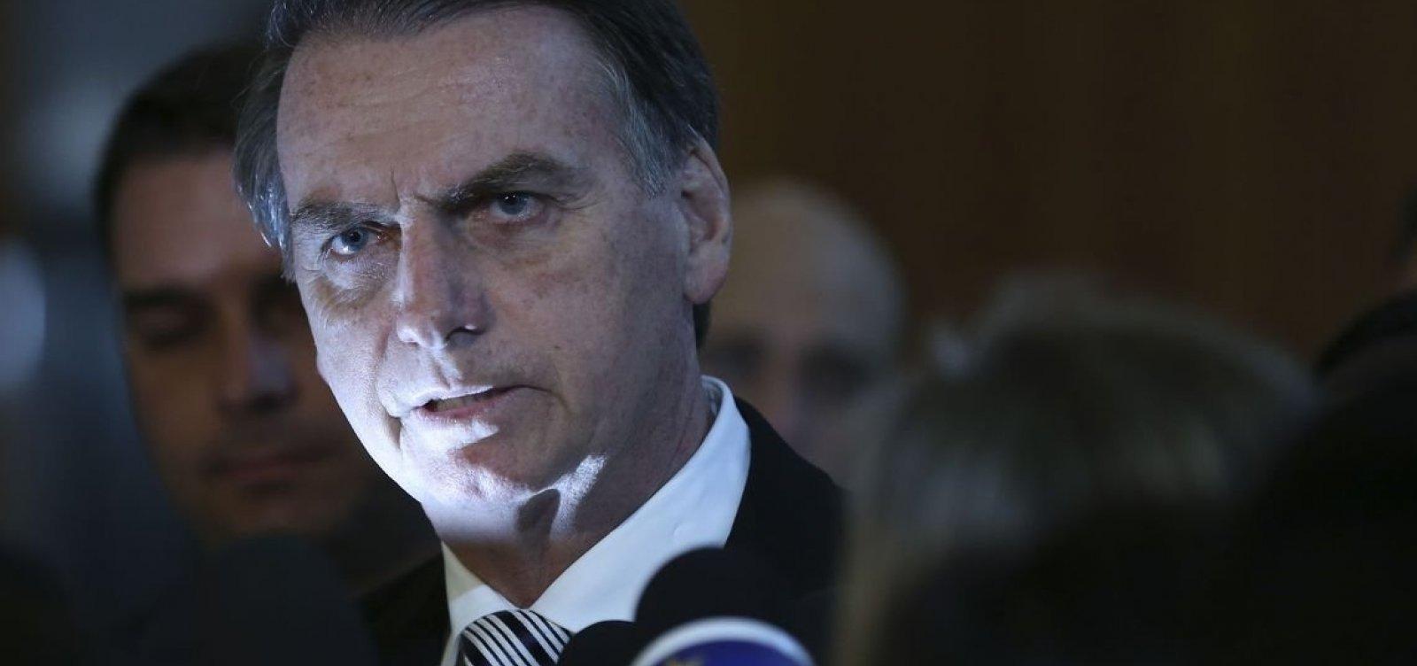 """Governo é considerado """"ruim ou péssimo"""" por 48,2% e 62,5% rejeitam Bolsonaro, diz CNT"""