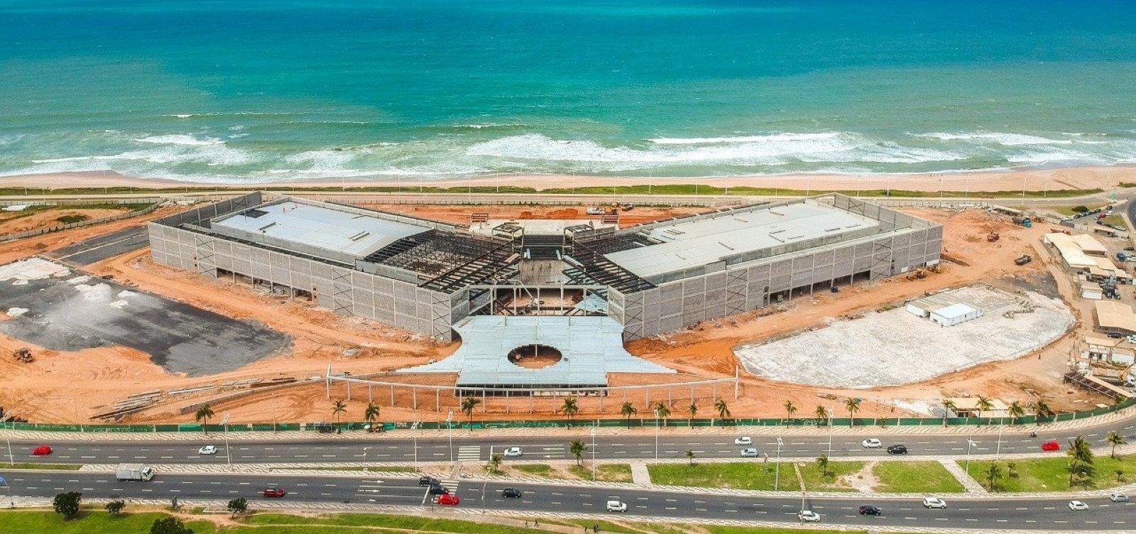 Centro de Convenções terá primeiro evento-teste de Salvador com 100% de vacinados