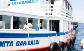 Travessia Salvador-Mar Grande é suspensa por 2h devido à maré baixa; confira