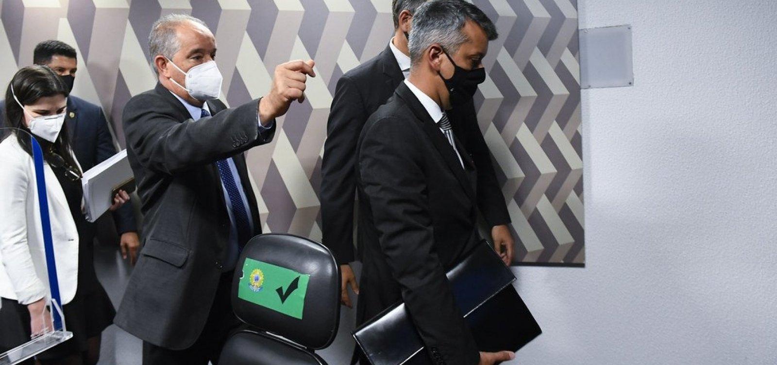 Preso na CPI da Covid, ex-diretor da Saúde paga fiança de R$ 1,1 mil e é liberado