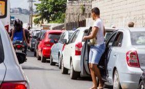 Bom Despacho: espera de mais de uma hora irrita motoristas e passageiros