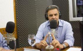 Senador Aécio Neves lamenta morte de Afrísio Vieira Lima