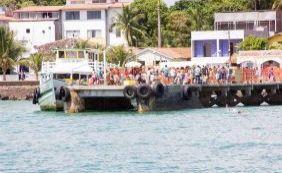 Movimento é intenso no ferryboat no Terminal de Bom Despacho