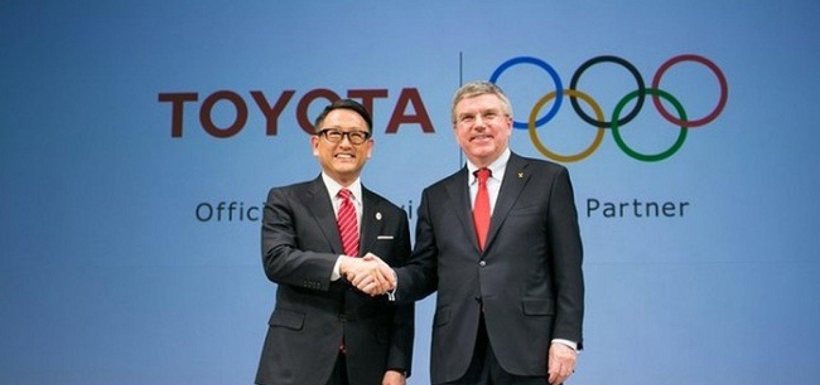 Cancelamento de anúncios da Toyota expõe incertezas entre patrocinadores das Olimpíadas