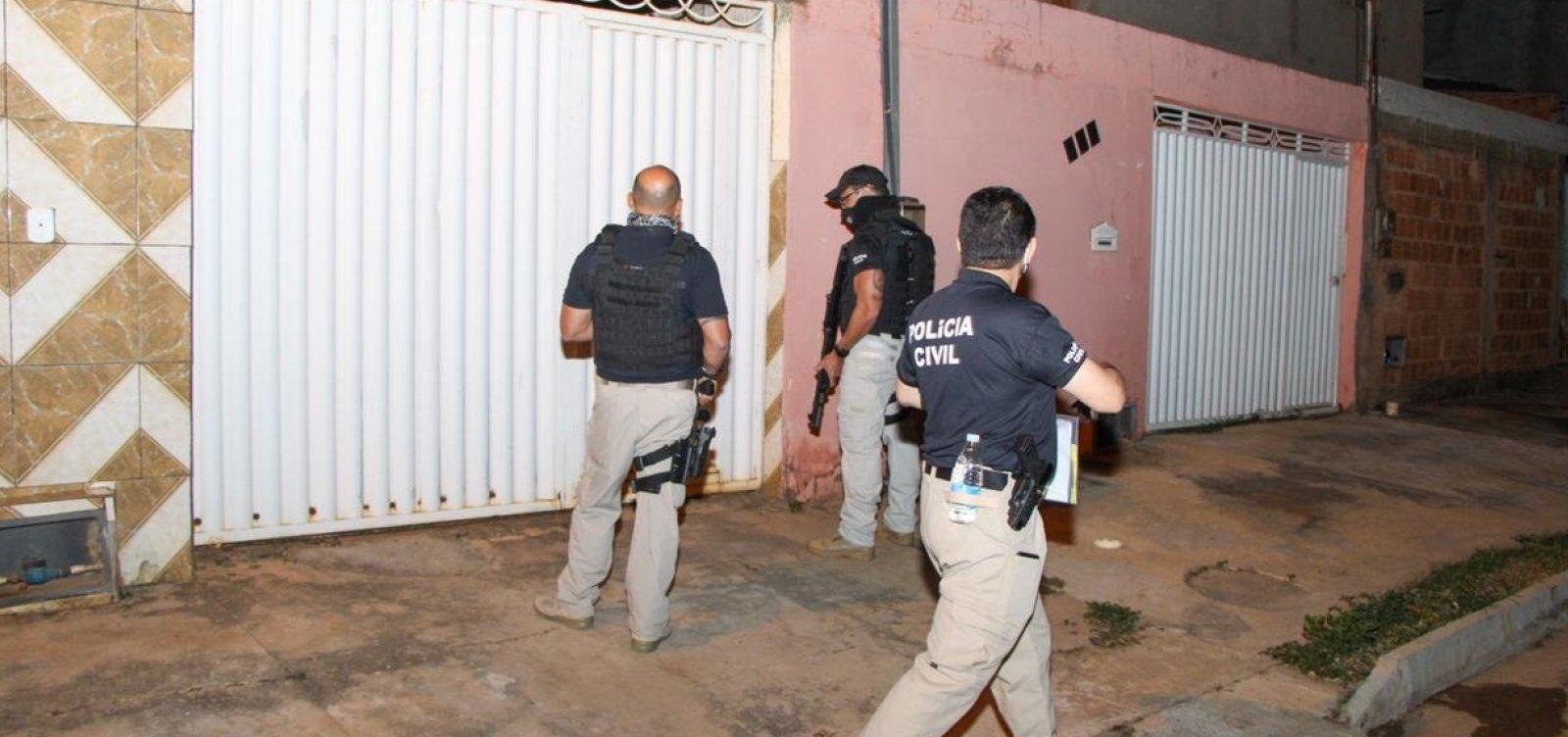 Operação prende cinco pessoas suspeitas de envolvimento em morte de empresário