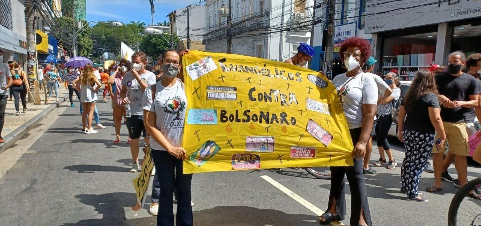 Grupo de negros e evangélicos de Salvador organiza manifesto contra Bolsonaro