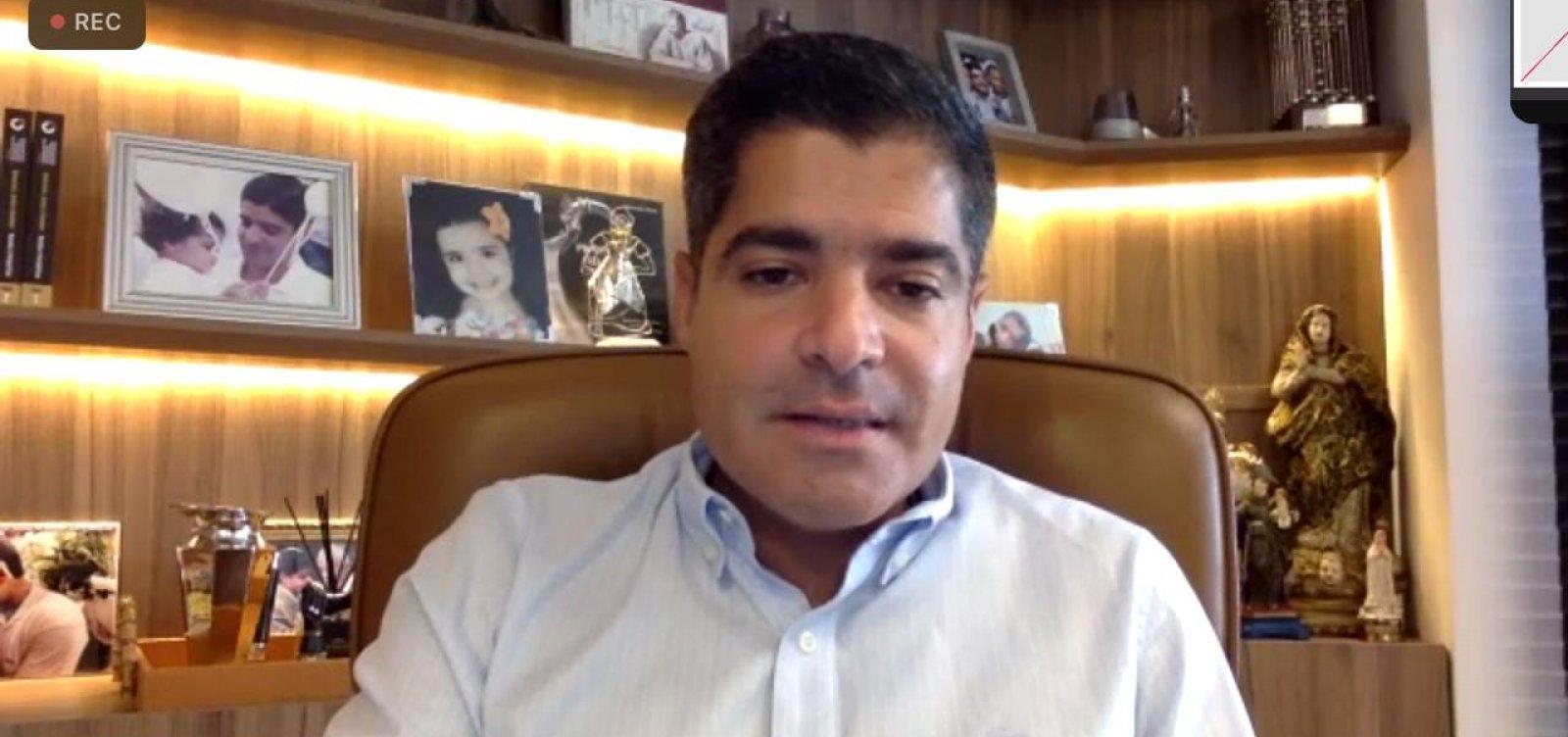 """ACM Neto nega ter conversado sobre fusão entre DEM, PP e PSL: """"Especulação"""""""