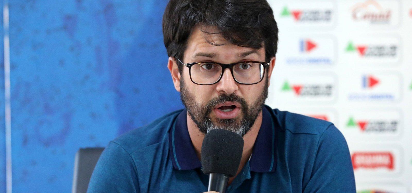 Presidente do Athletico ameaça agredir Bellintani durante reunião sobre nova Liga, diz colunista