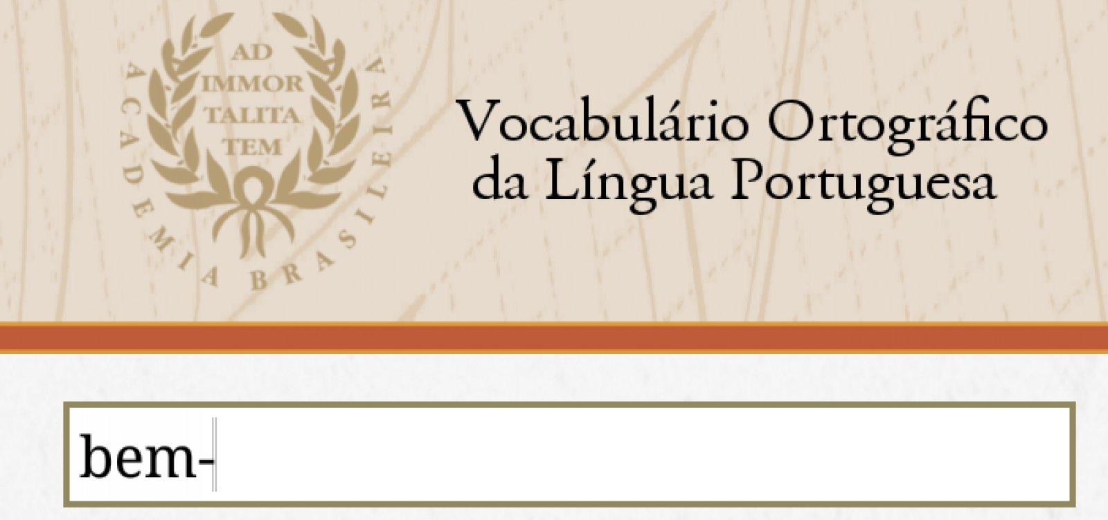 ABL inclui 'feminicídio', 'lockdown' e 'home office' em vocabulário atualizado da língua portuguesa