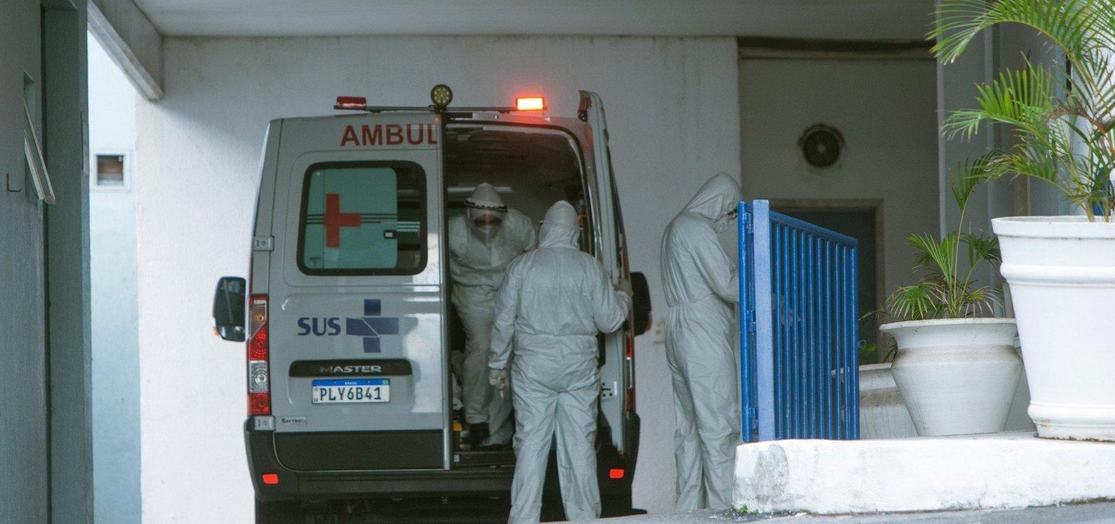 Bahia registra 1.941 novos casos de Covid e 47 mortes pela doença em 24h