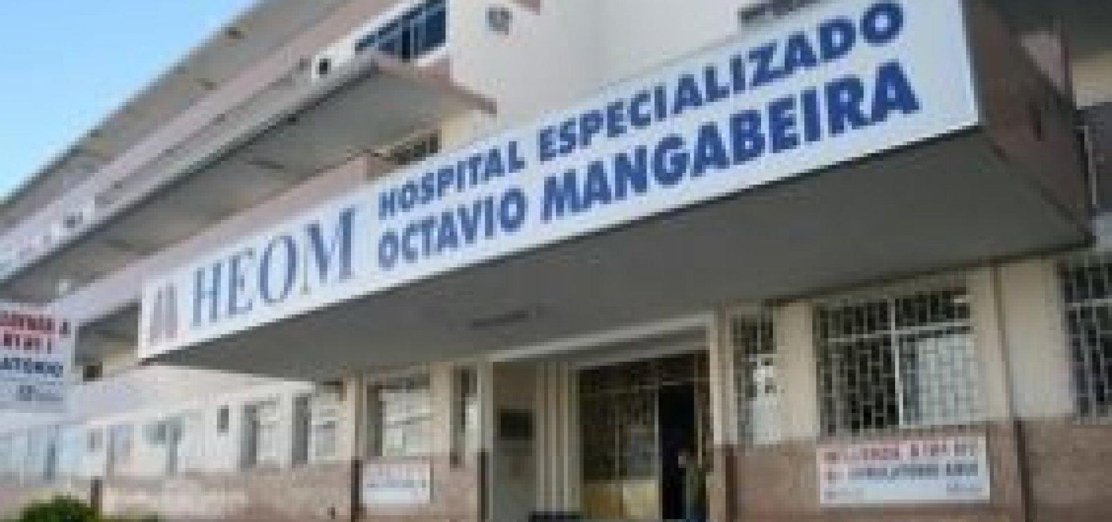 Ministério Público pede que o Ipac interrompa obras no Hospital Otávio Mangabeira