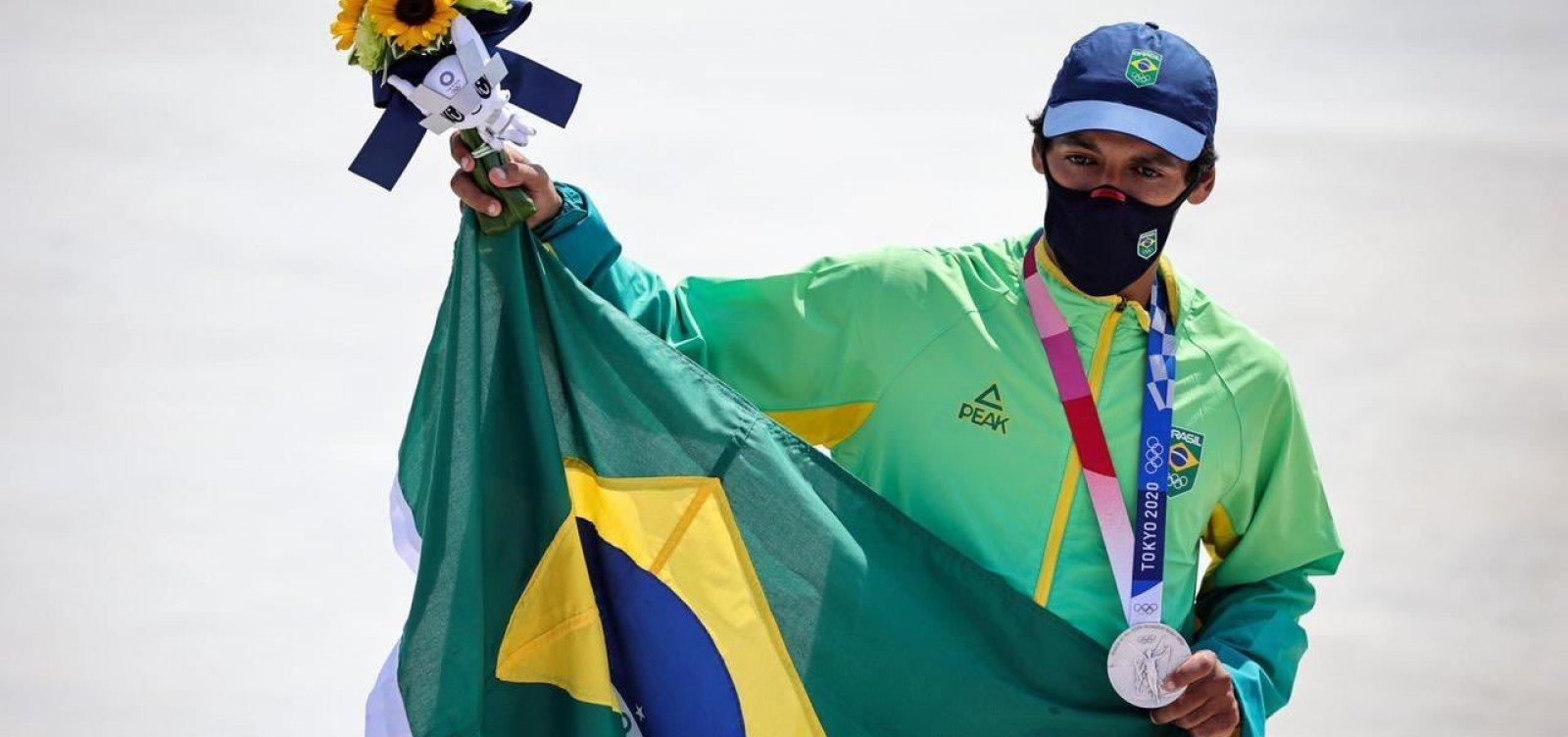 No Skate, Brasil garante primeira medalha nas Olimpíadas 2020