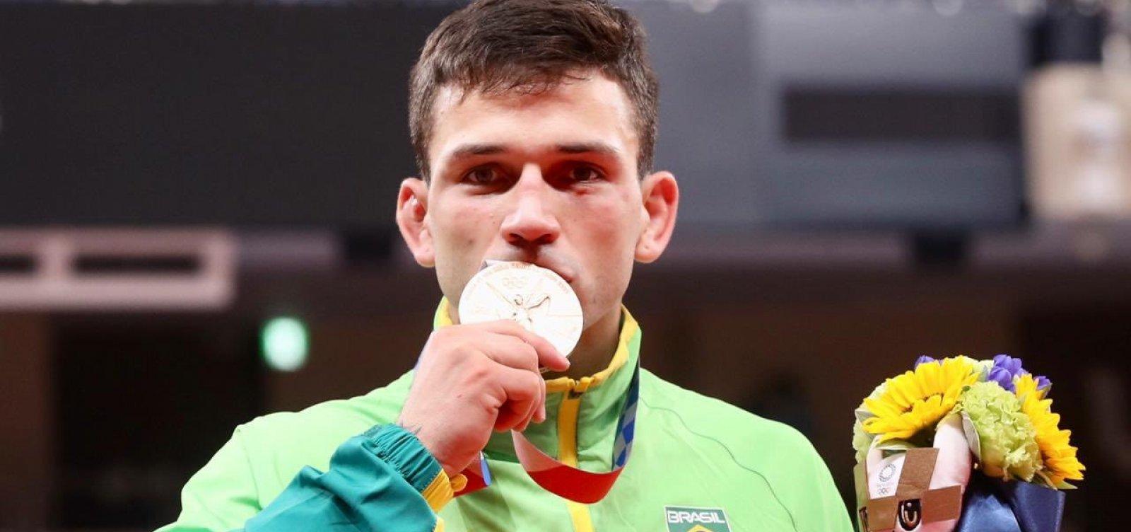 Bronze no Judô é segunda medalha brasileira em Tóquio