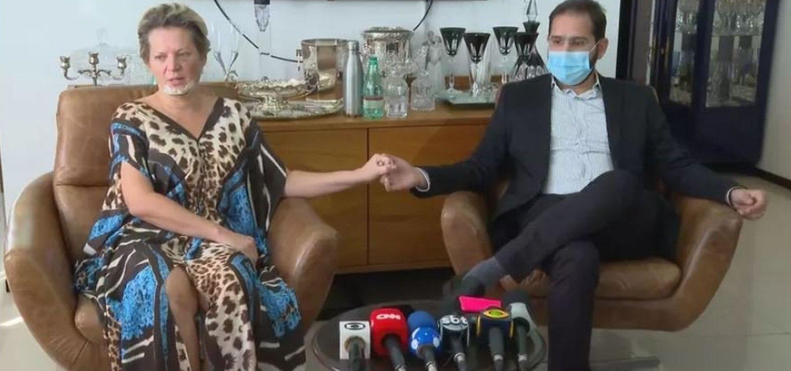 Marido de Joice Hasselman nega violência contra a parlamentar