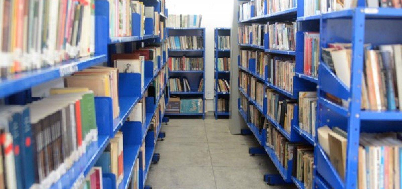 Bibliotecas voltam a receber público no mês de agosto em Salvador
