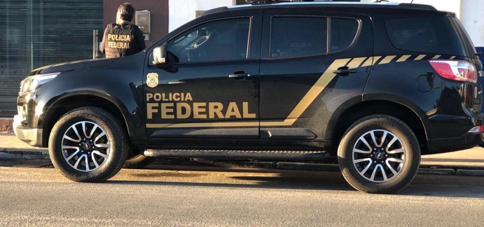 Operação da PF de combate à pornografia infantil prende um homem em Jacobina
