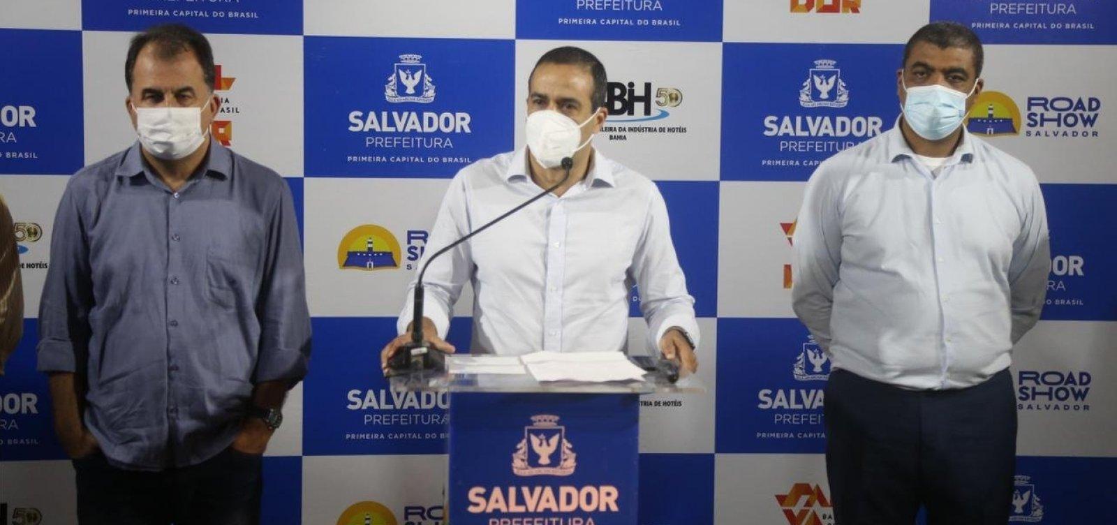Covid-19: Bruno Reis anuncia cadastro para vacinação de público entre 12 e 17 anos