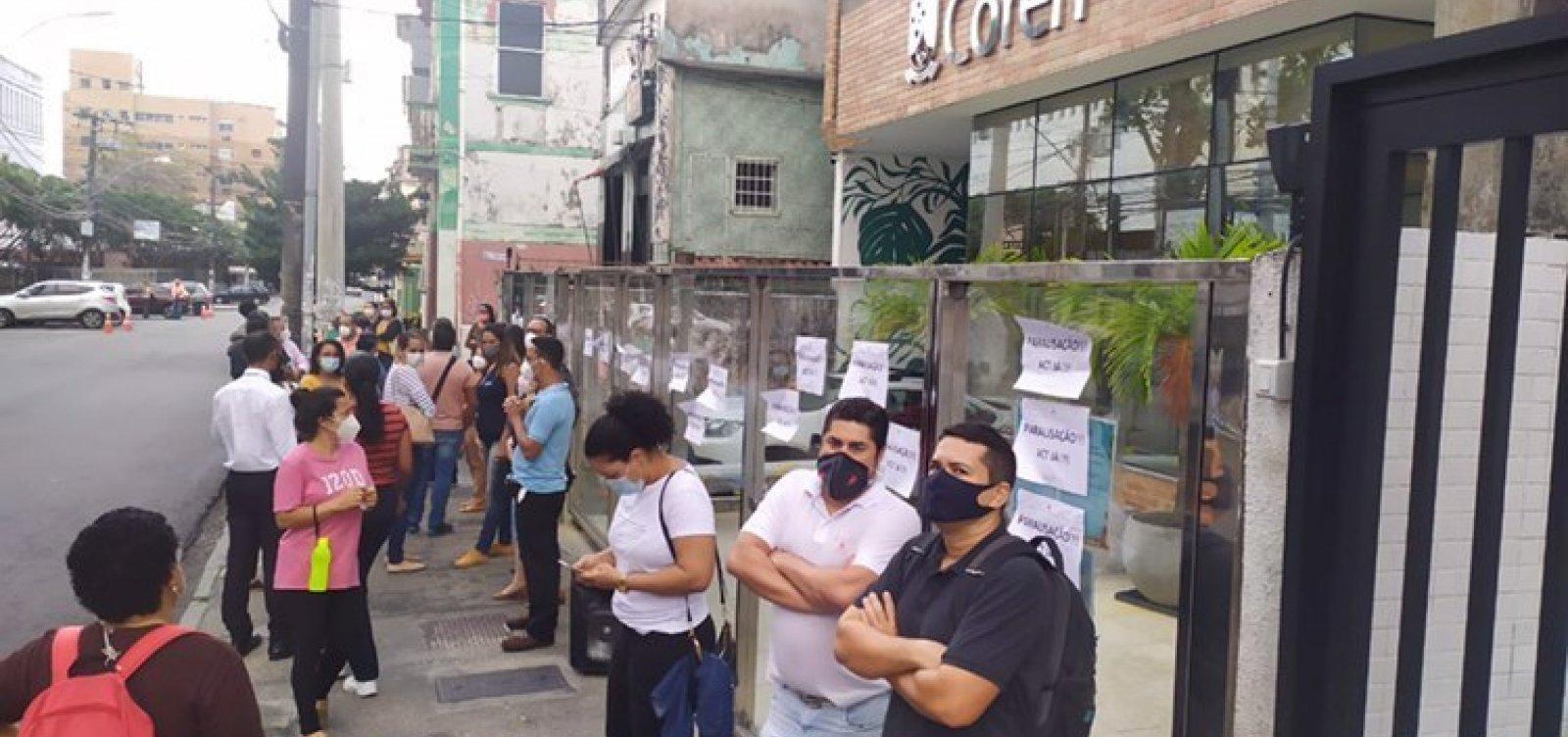 Conselho de Enfermagem diz desconhecer casos de assédio após manifestação de servidores