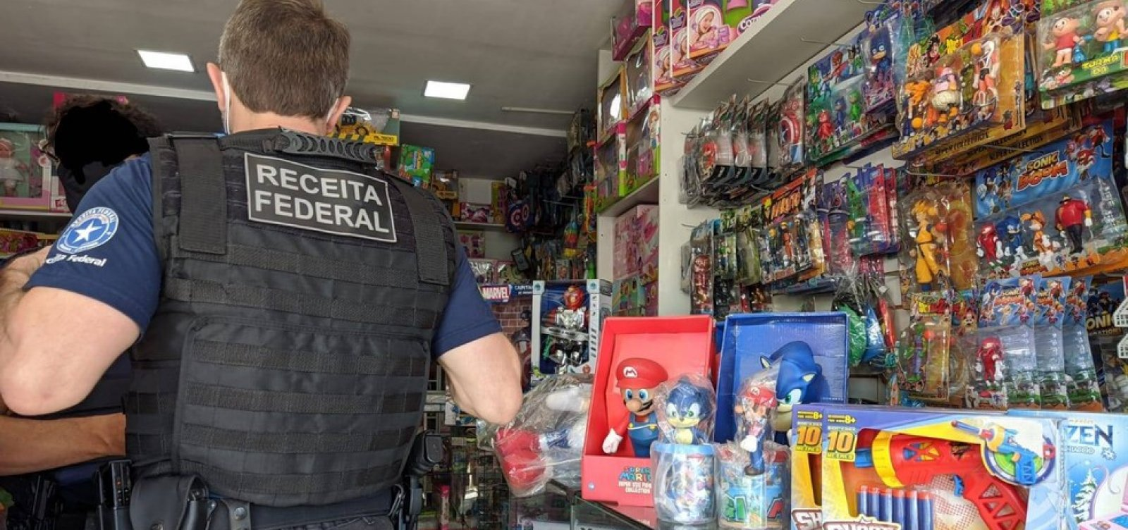 Mercadoria falsificada é apreendida em Vitória da Conquista